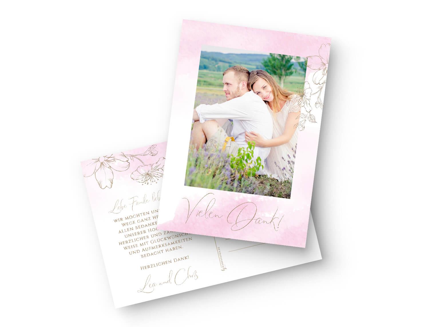 hochzeit-dankeskarte-karte-dina-6-rosa-aquarell-gold-blumen_front_MP0013-7.1_kl
