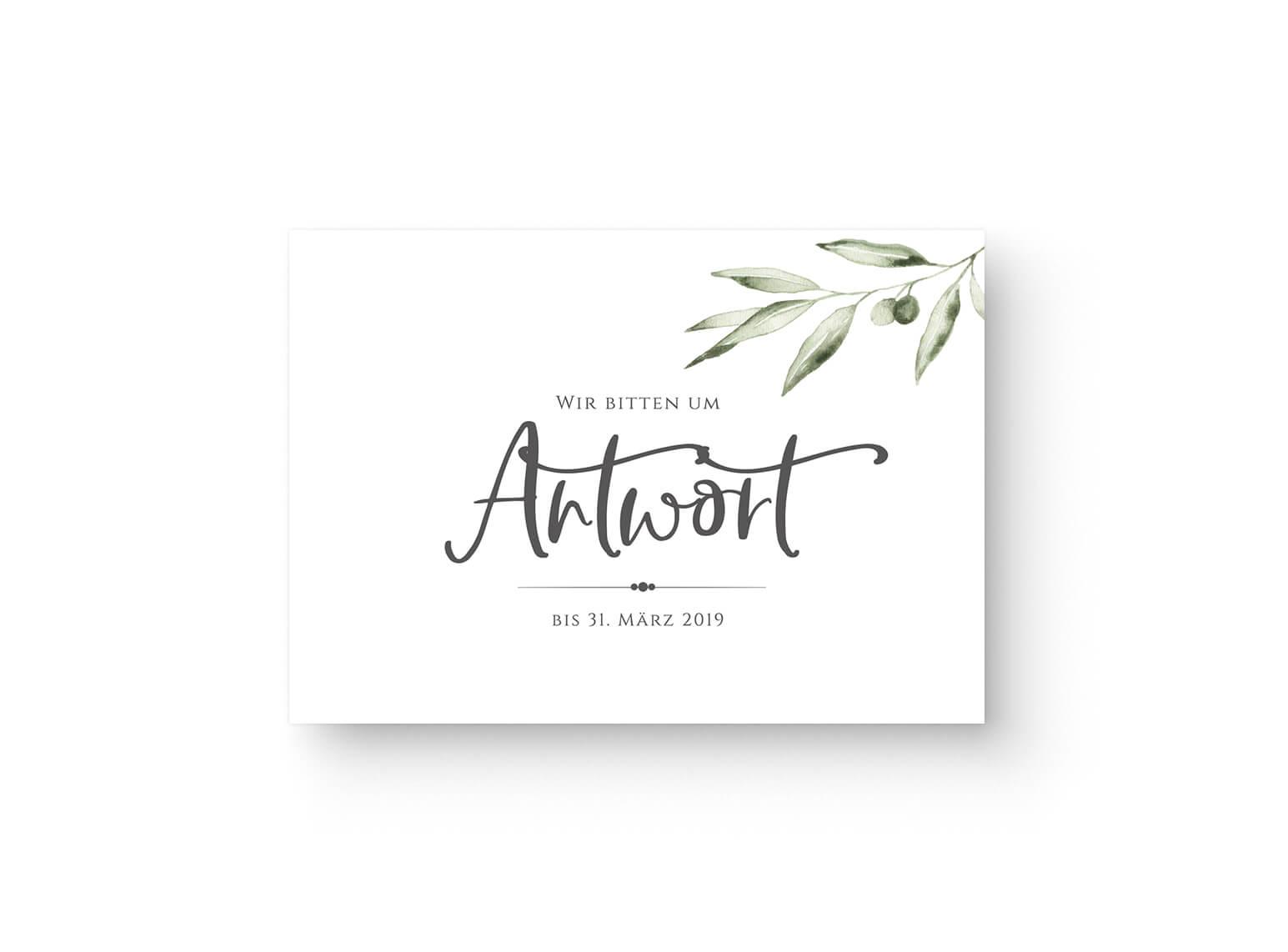 antwort-karte-rueckmeldung-postkarte-olive-zweig-aquarell-gruen-grau-front_MP0008-1.0.2